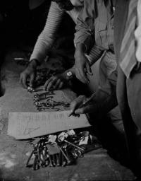 Imagen de la exposición 'El Largo Viaje'. UNRWA.