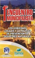 Cartel Encuentro Desastres Naturales